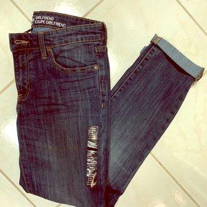 Gap girlfriend jeans!